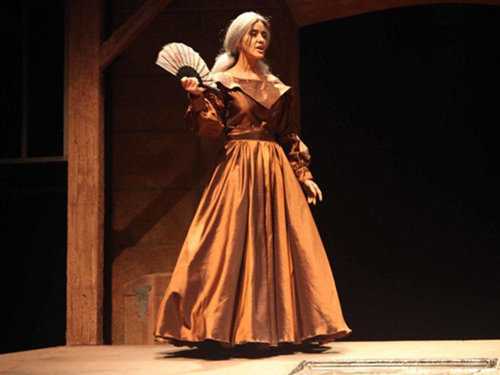 Teatro - Joaquina Sánchez